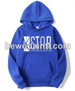 Best Pullover Fleece Blue Hoodie for men