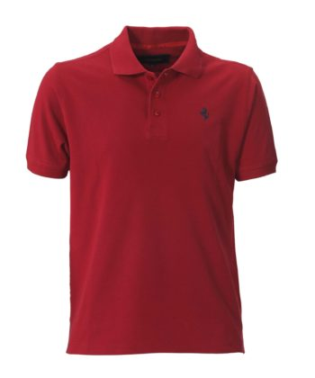 FLAT RED POLO SHIRT