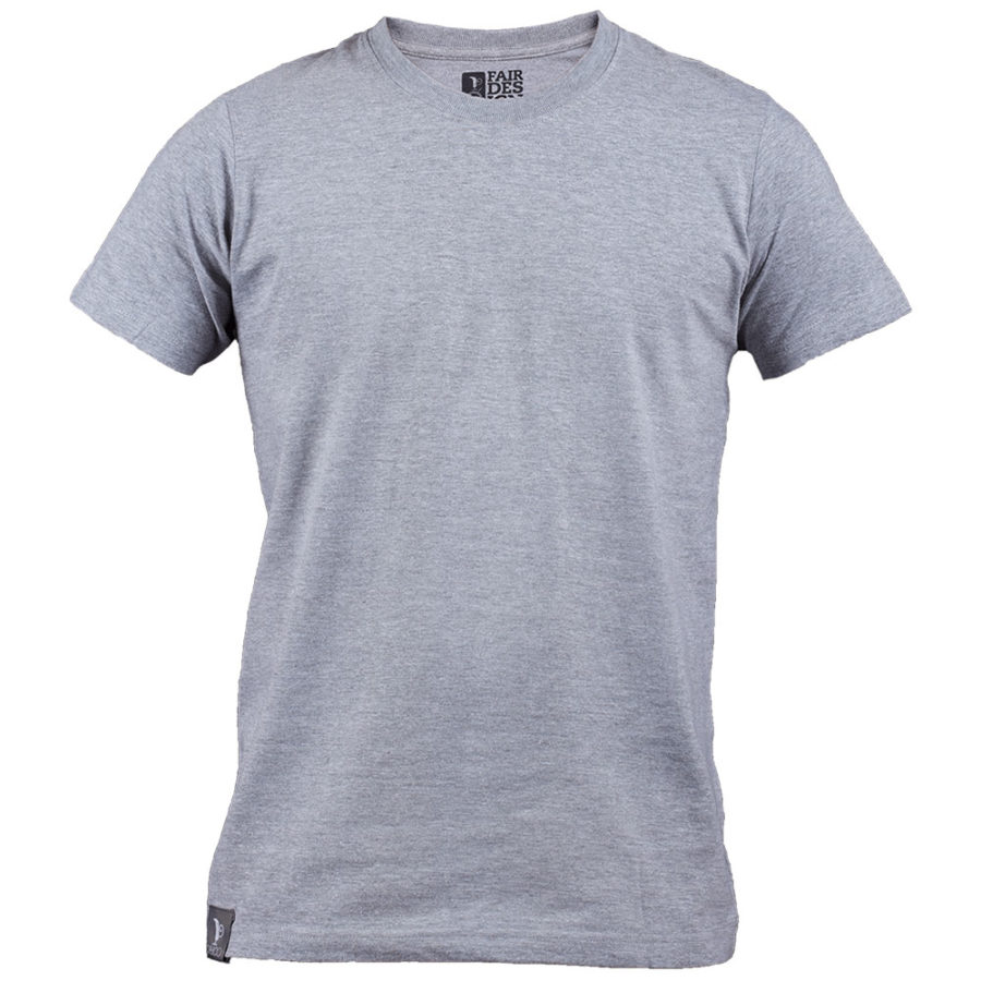 Flat Gray T-Shirt for men