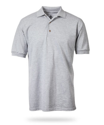 Flat Grey Polo Shirt