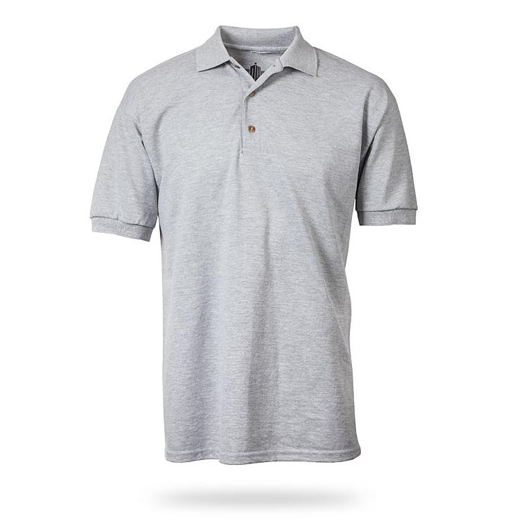 Flat Grey Polo Shirt