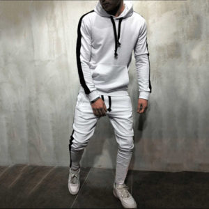 Men Fleece (gym) Tracksuit Slim Fit 3