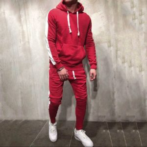 Men Fleece (gym) Tracksuit Slim Fit 2
