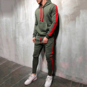 Men Fleece (gym) Tracksuit Slim Fit 6