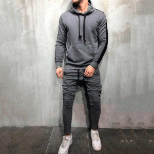 Men Fleece (gym) Tracksuit Slim Fit 1