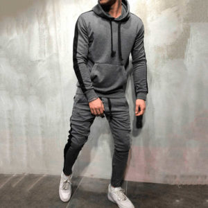 Men Fleece (gym) Tracksuit Slim Fit 5