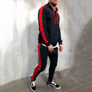 Men Fleece (gym) Tracksuit Slim Fit 4