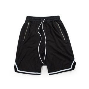 Casual / Sports 100% Genuine cotton fleece shorts for men , gym wear fleece shorts 5