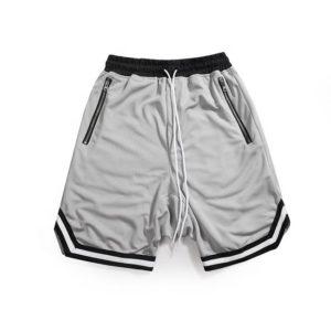 Casual / Sports 100% Genuine cotton fleece shorts for men , gym wear fleece shorts 4