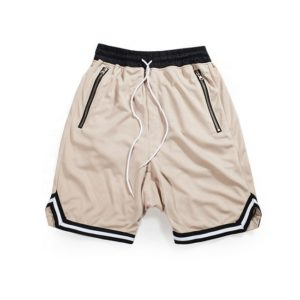 Casual / Sports 100% Genuine cotton fleece shorts for men , gym wear fleece shorts 3