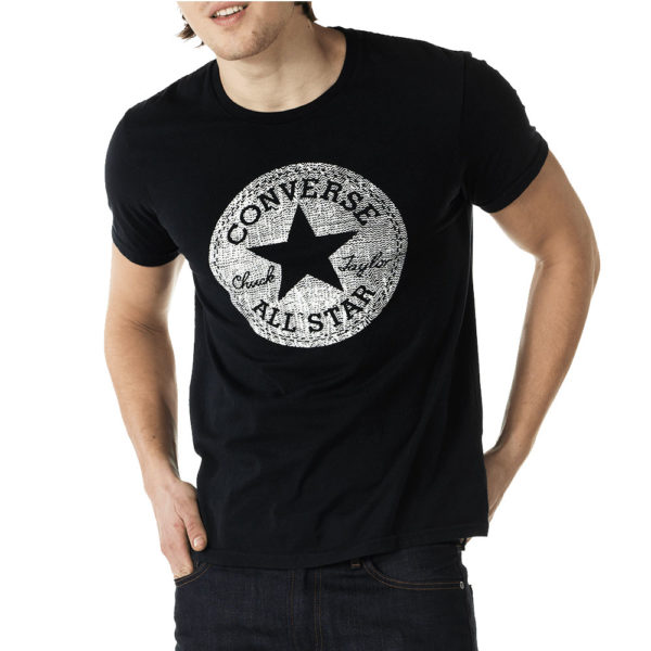 Black Printed T-Shirt for men 1
