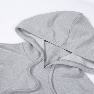 Women Fleece Tracksuit Cropped Hoodie and Pant 6
