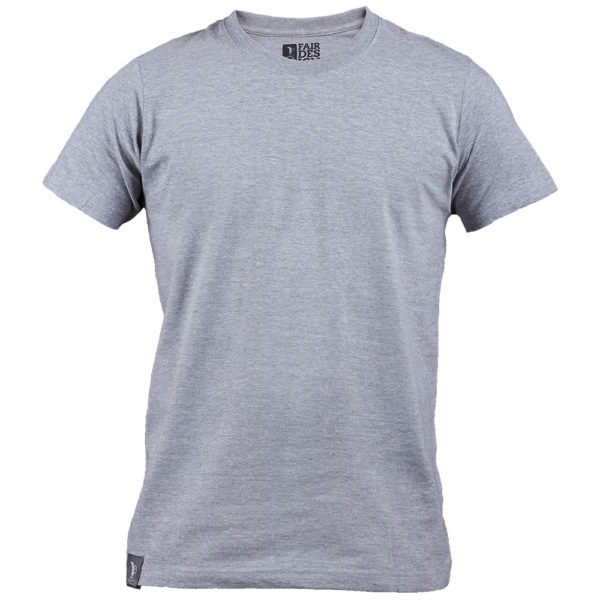 Flat Gray T-Shirt for men 1