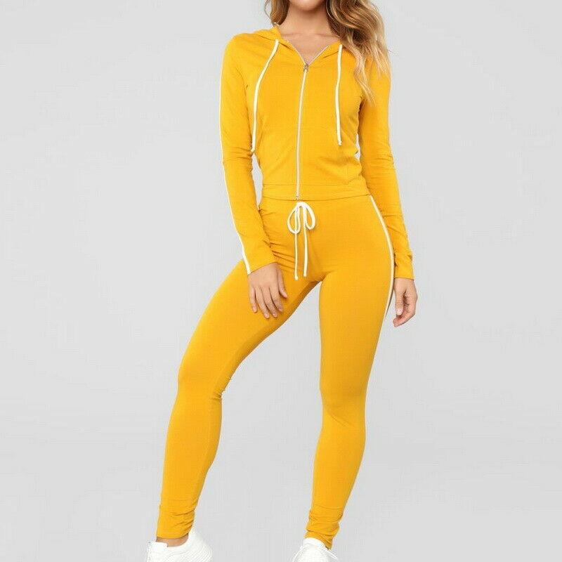 Ladies Casual Sportswear Women Fleece Tracksuits