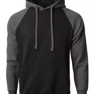 Men American Style Shoulder Fleece Hoodie 4