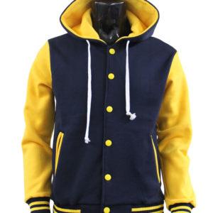 Men's Hoodie Baseball Jacket Varsity Jacket Sweatshirt Letterman Jacket 1
