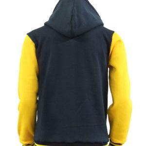 Men's Hoodie Baseball Jacket Varsity Jacket Sweatshirt Letterman Jacket 3