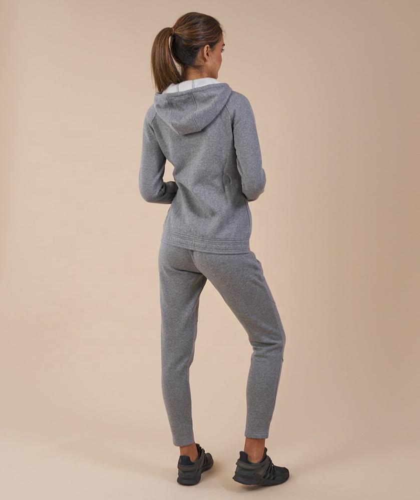 New Women's Fleece Tracksuits Custom Women