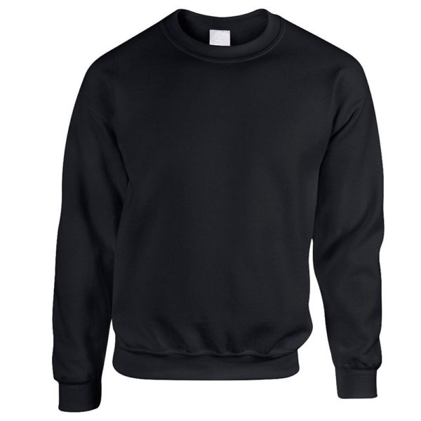 Black Sweatshirt for Men and Women 1