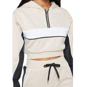 2 Piece Tracksuit Women Hooded Tracksuit 2