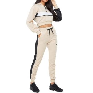 2 Piece Tracksuit Women Hooded Tracksuit 1