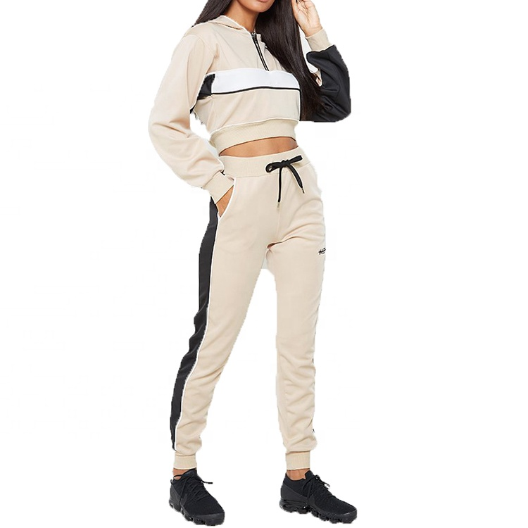 2 Piece Tracksuit Women Hooded Tracksuit