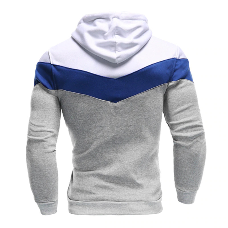 Men Cotton Fleece Pullover Hoodie