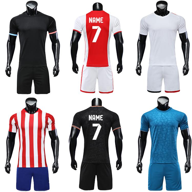 2021-2022 blank long sleeve soccer jersey football kit big size jerseys