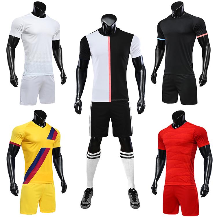 2021-2022 camisas futebol blank soccer jerseys black orange jersey