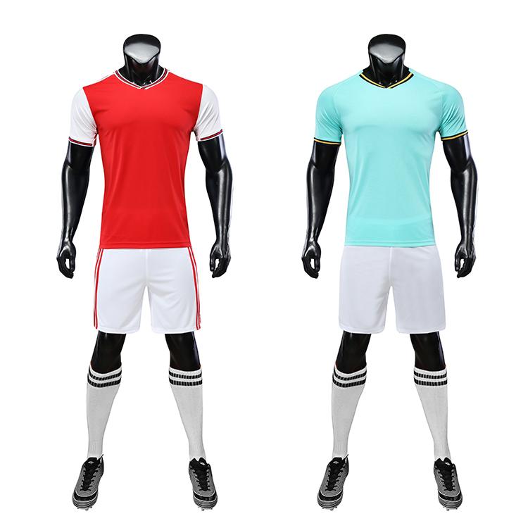 2021-2022 cheap soccer team uniforms jerseys set