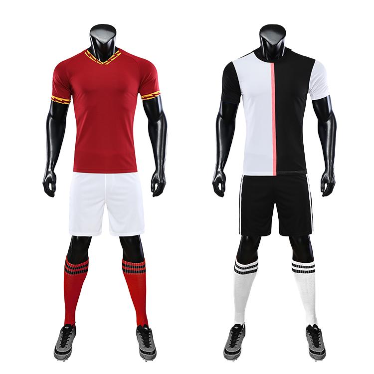 2021-2022 custom football shirt maker soccer jersey set