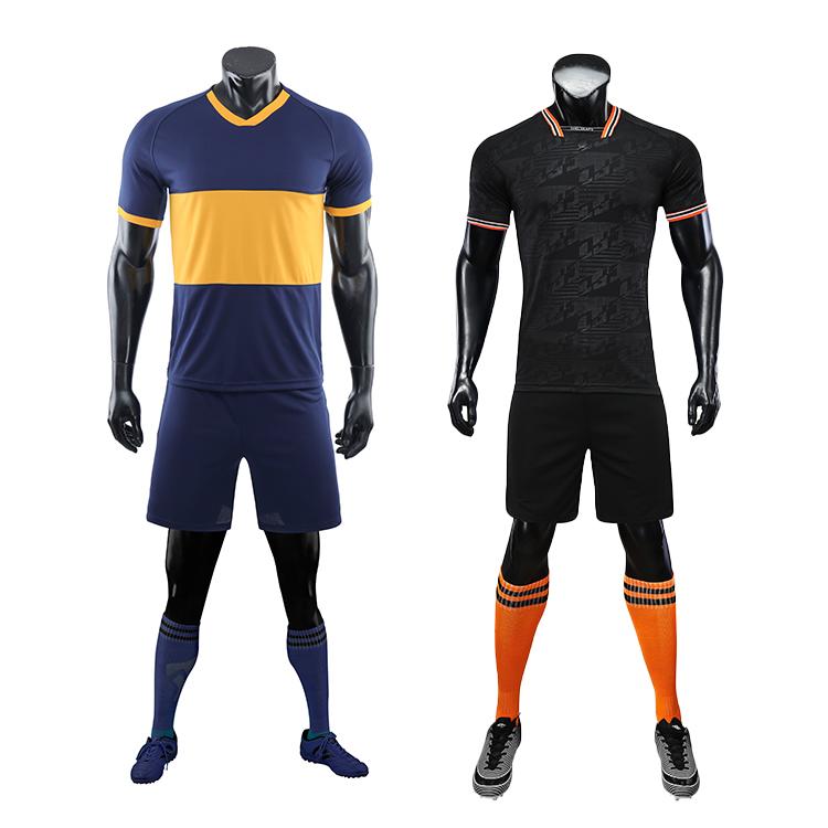 2021-2022 custom thai quality cheap soccer jersey sublimation uniform sets