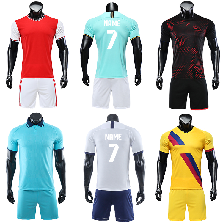 2021-2022 design football kit custom shirt maker soccer jersey