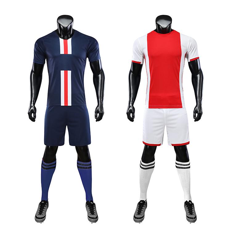 2021-2022 Digital Printing Football Jersey Design Your Own Soccer Kit