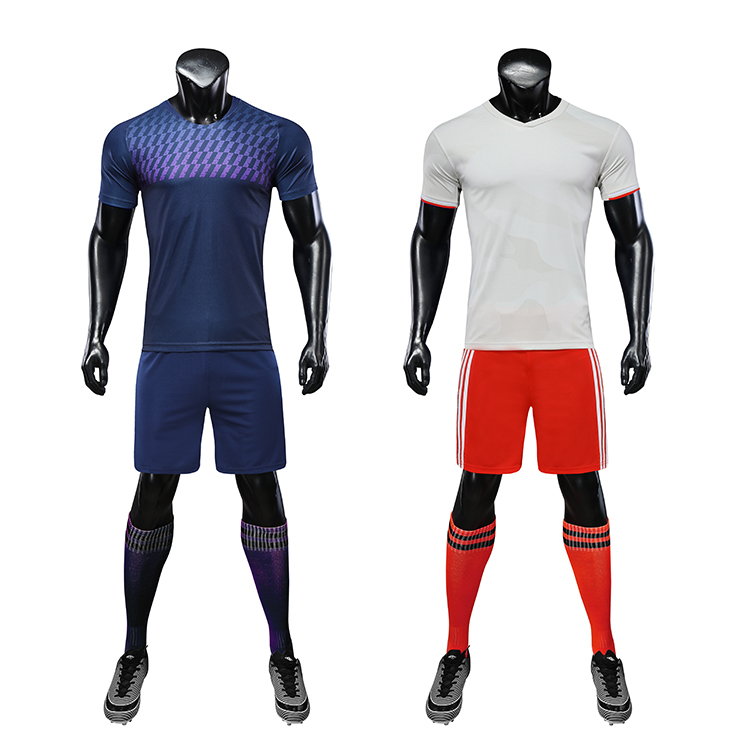 2021-2022 dye sublimation uniforms football double sided jersey diy footballs