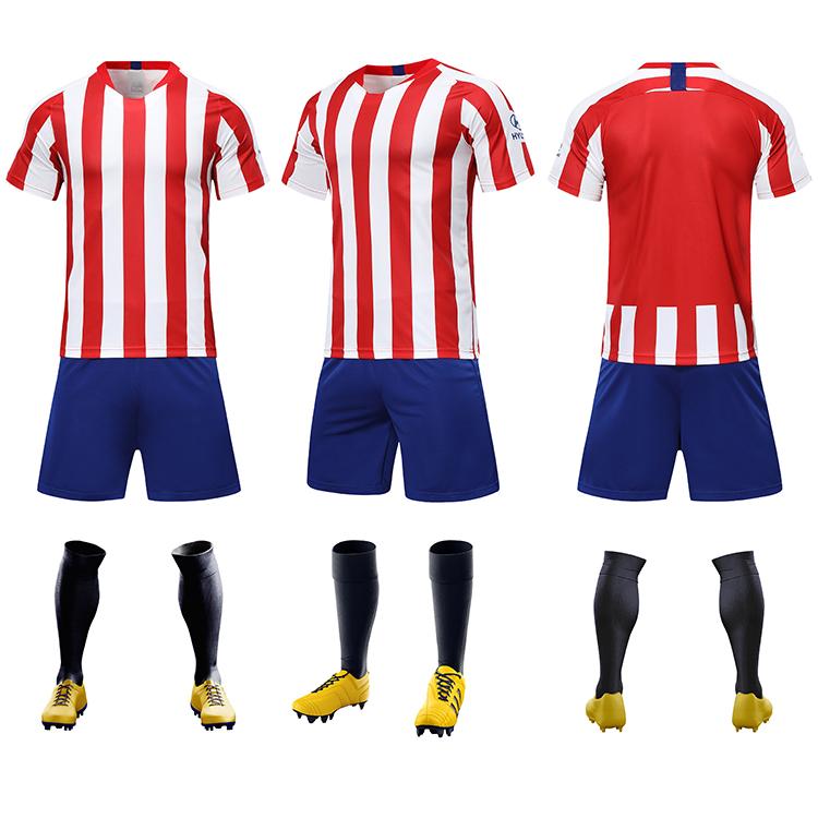 2021-2022 football jersey new model sports custom soccer kit