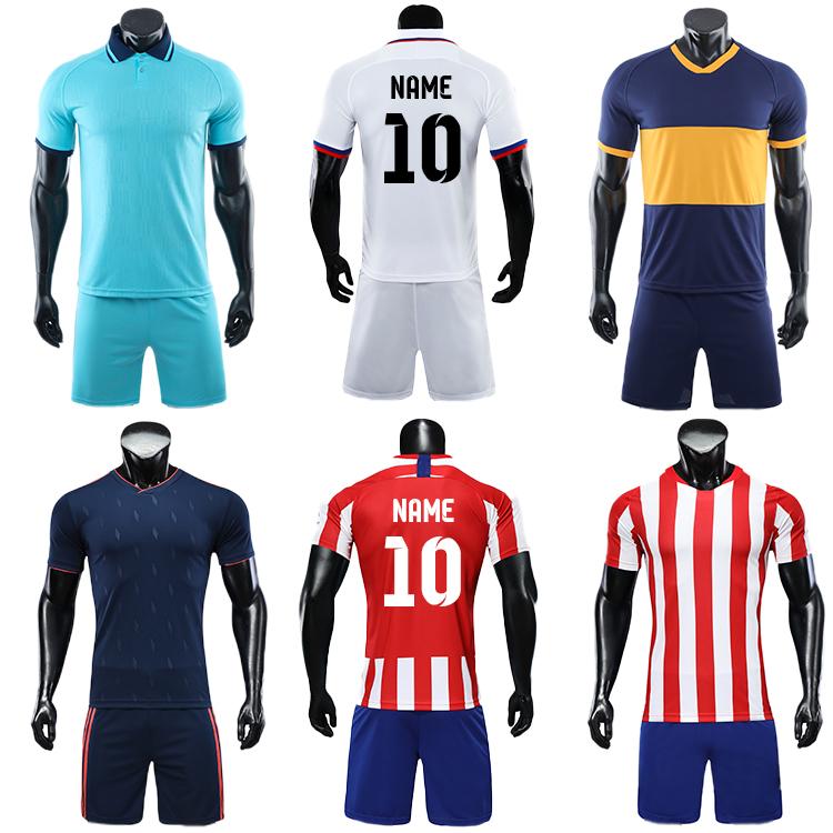 2021-2022 long sleeve football jersey latest soccer design jogging