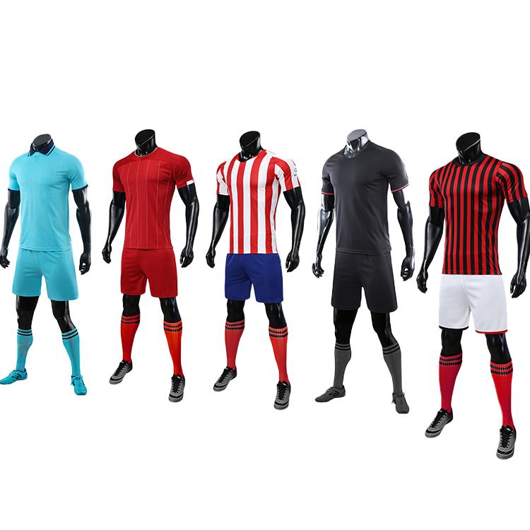 2021-2022 mens soccer uniform set jersey men football shirt