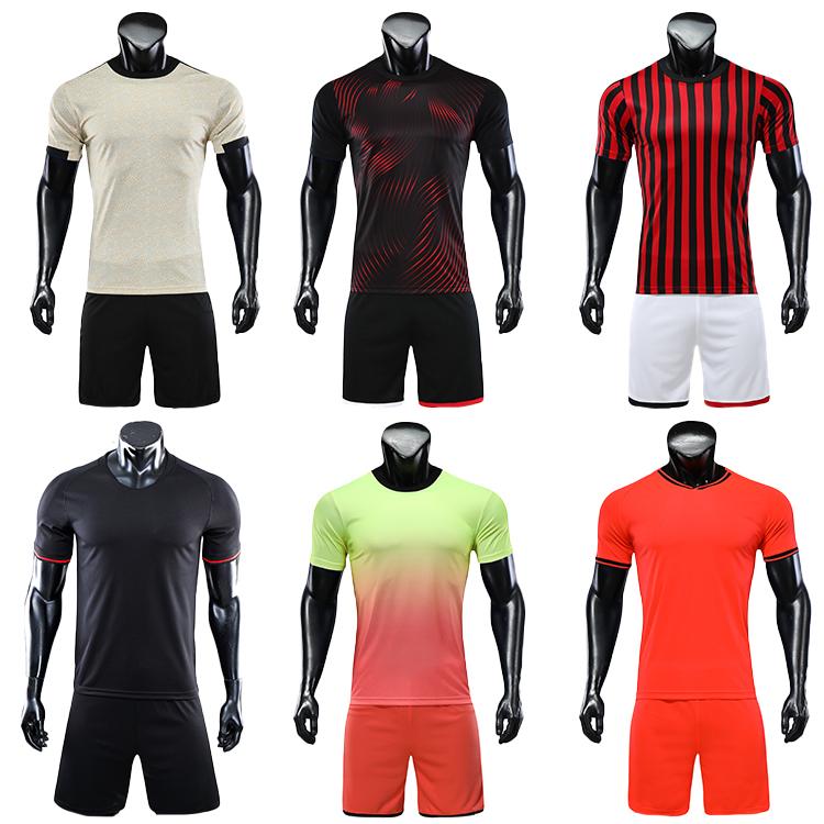 2021-2022 orange soccer uniforms jersey men football shirt