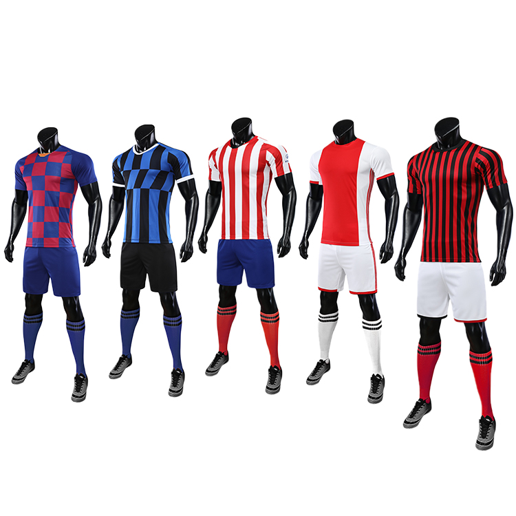 2021-2022 retro football shirts referee jersey red white soccer