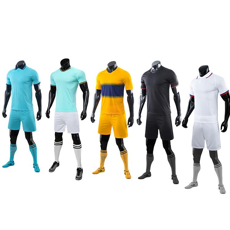 2021-2022 soccer ball short sleeve jersey
