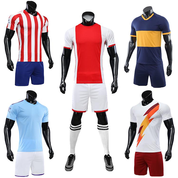 2021-2022 soccer training equipment tracksuit team set