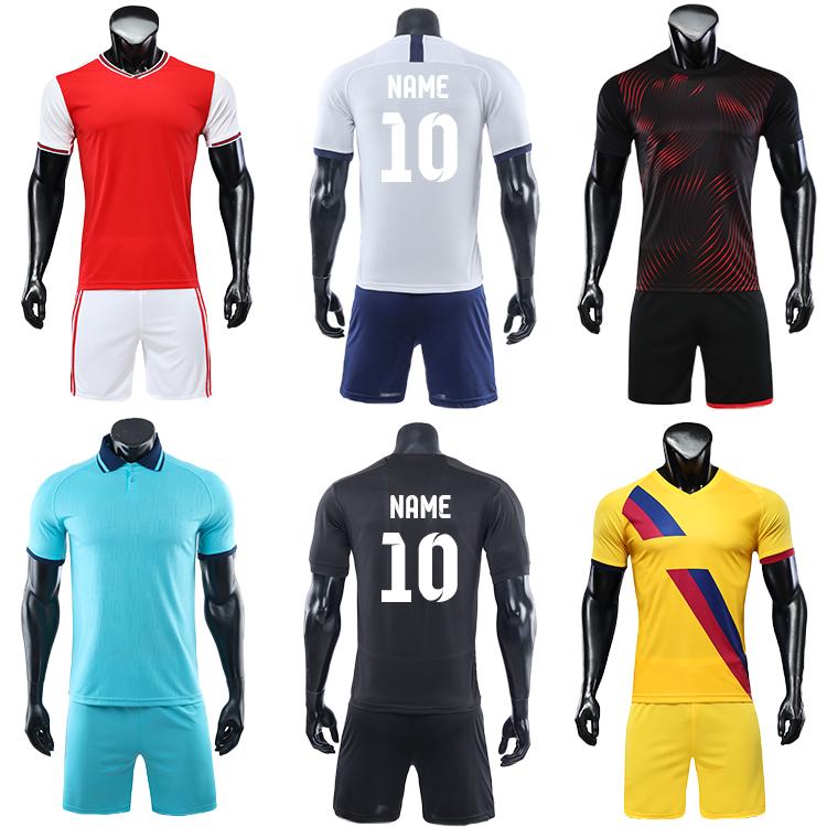 2021-2022 soccer uniform custom training equipment set team wear