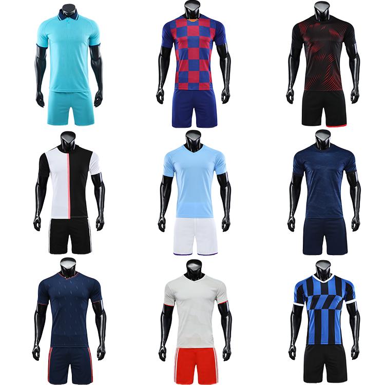 2021-2022 soccer wear football jersey men uniforms for kids uniform