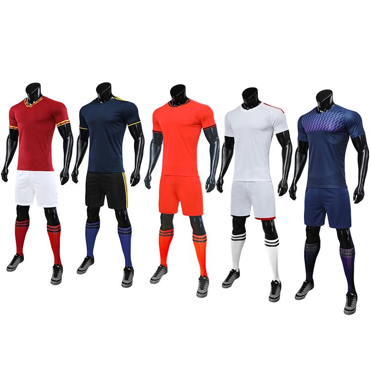 2021-2022 soccer wear football uniform sublimation long sleeves
