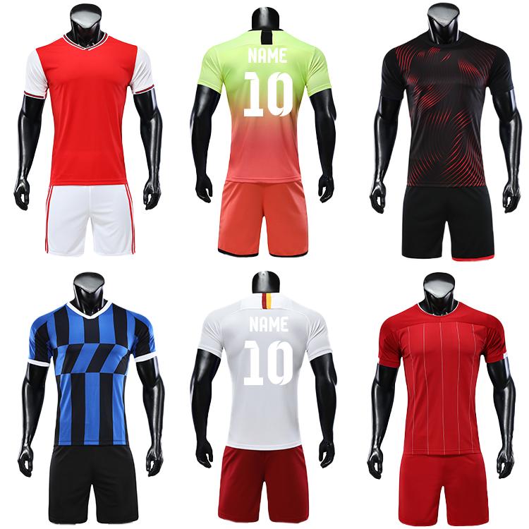 2019 2020 survetement homme football striped soccer jerseys wear uniform 6