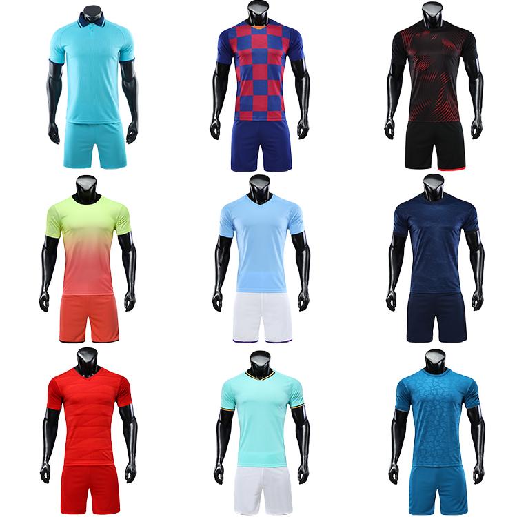 2021-2022 wholesale football shirt jersey blank jerseys