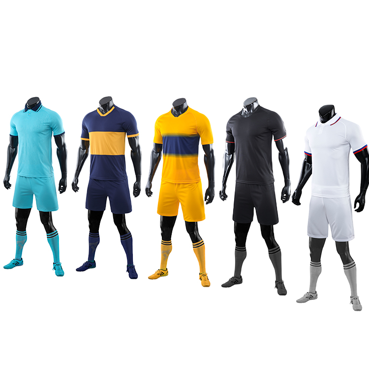2021-2022 yellow jersey football wholesale soccer uniforms usa