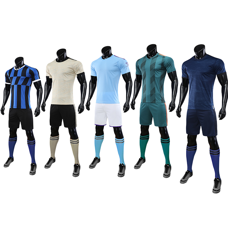 2021-2022 youth soccer uniforms sets jersey football