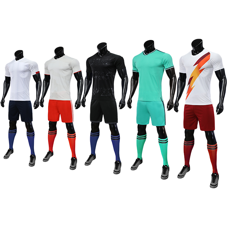 2019 2020 youth soccer uniforms sets jersey football 6